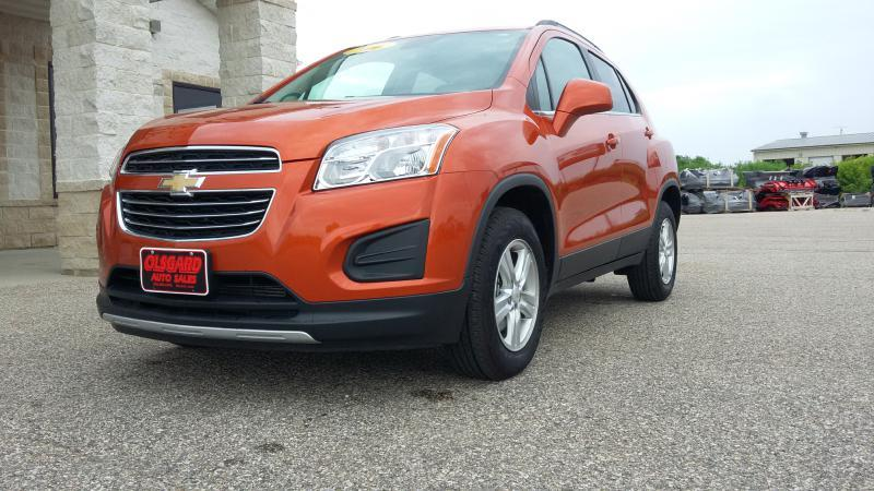 2016 Chevrolet Trax for sale at OLSGARD AUTO SALES in Decorah IA