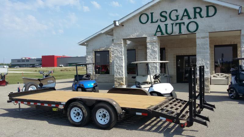 2018 Big Tex 10ET-20-BK-KR for sale at OLSGARD AUTO SALES in Decorah IA
