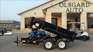 2018 Big Tex 70SR-10-5WDD for sale at OLSGARD AUTO SALES in Decorah IA