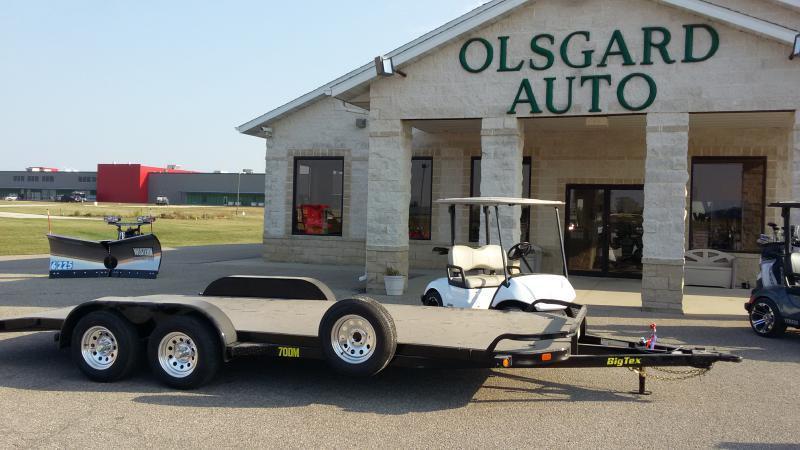 2018 Big Tex 70DM-20BK for sale at OLSGARD AUTO SALES in Decorah IA