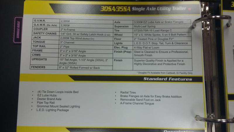 2018 Big Tex 30SA-10BK4RG for sale at OLSGARD AUTO SALES in Decorah IA