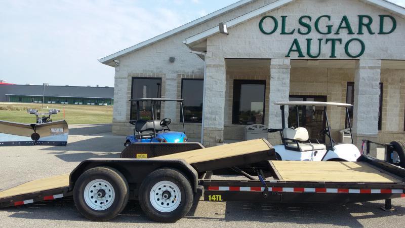 2018 Big Tex 14TL-22BK for sale at OLSGARD AUTO SALES in Decorah IA