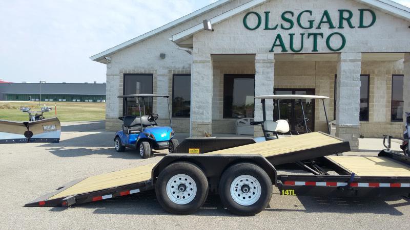 2018 Big Tex 14TL-20BK for sale at OLSGARD AUTO SALES in Decorah IA
