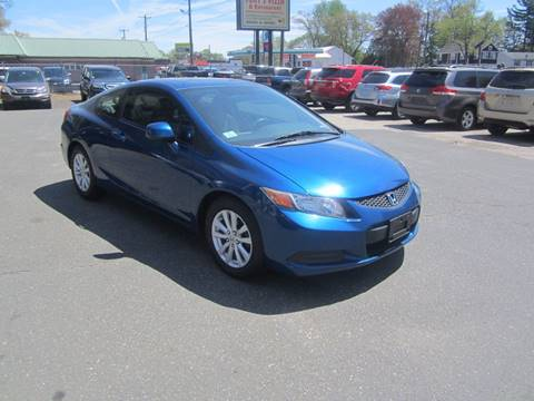 2012 Honda Civic for sale at Chris Auto Sales in Springfield MA