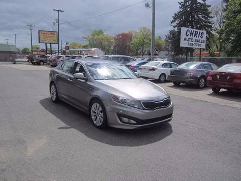 2012 Kia Optima for sale at Chris Auto Sales in Springfield MA