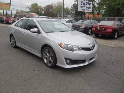2013 Toyota Camry for sale at Chris Auto Sales in Springfield MA