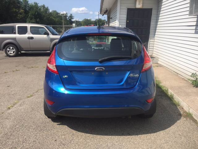 2011 Ford Fiesta for sale at Chris Auto Sales in Springfield MA