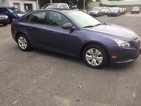 2014 Chevrolet Cruze for sale at Chris Auto Sales in Springfield MA