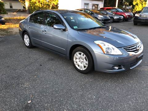 2010 Nissan Altima for sale in Springfield, MA