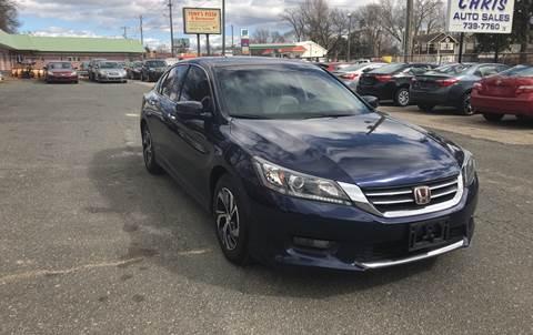 2014 Honda Accord for sale in Springfield, MA