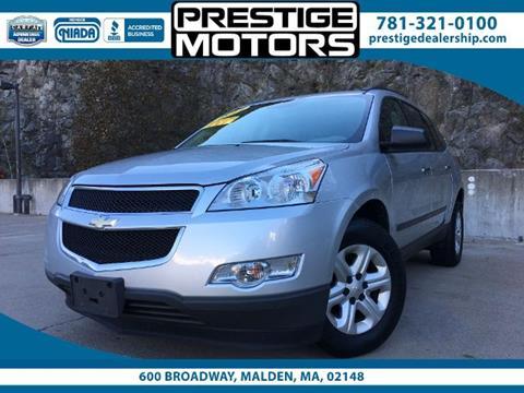 2011 Chevrolet Traverse for sale in Malden, MA
