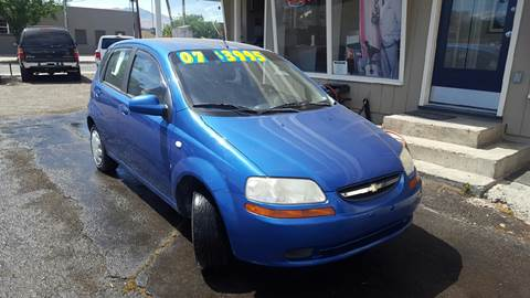2007 Chevrolet Aveo for sale in Sparks, NV