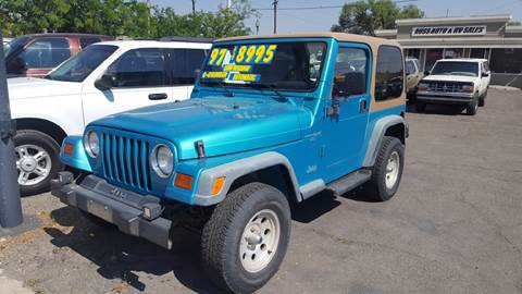 1997 Jeep Wrangler for sale in Sparks, NV