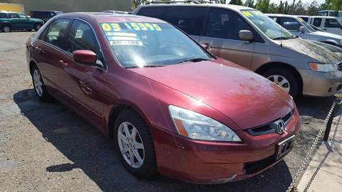 2003 Honda Accord for sale in Sparks, NV