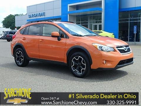 2014 Subaru XV Crosstrek for sale in Randolph, OH