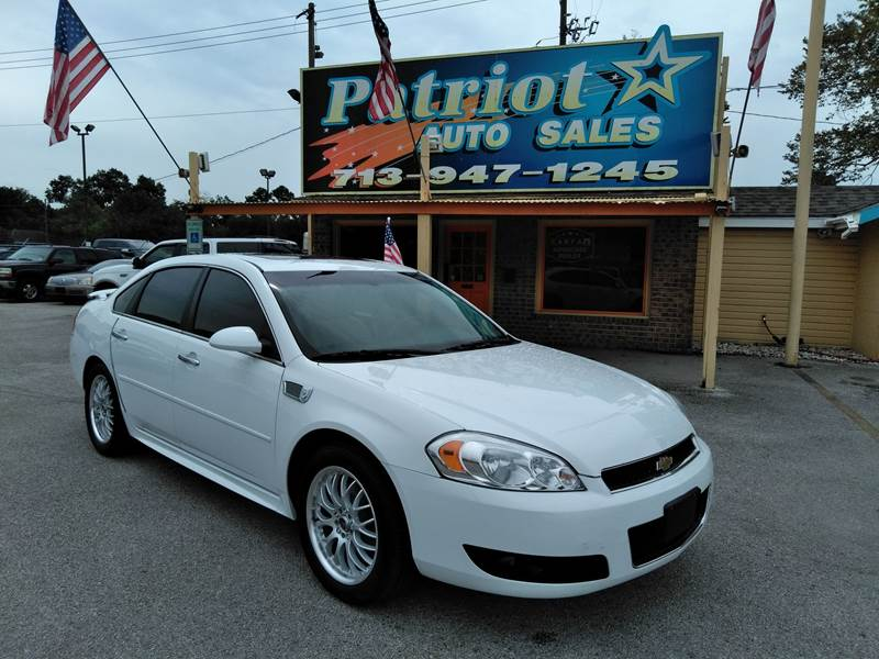2012 Chevrolet Impala For Sale At Legacy Trucks U0026 Cars In South Houston TX