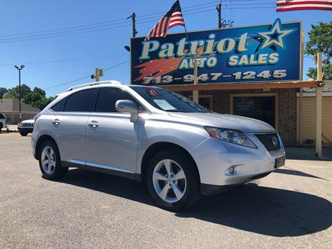 2011 Lexus RX 350 for sale in South Houston, TX