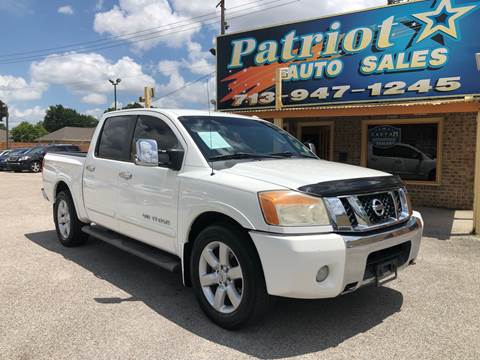 2010 Nissan Titan for sale in South Houston, TX