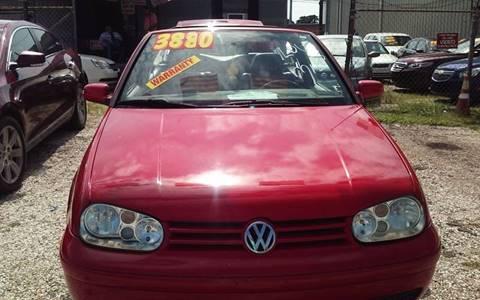 2002 Volkswagen Cabrio for sale in Metairie, LA