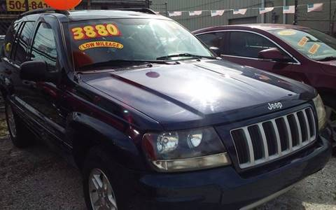 2004 Jeep Grand Cherokee for sale in Metairie, LA