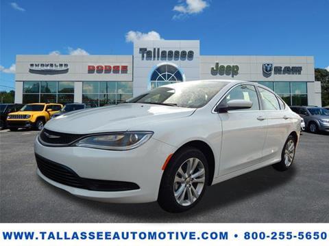 2017 Chrysler 200 for sale in Tallassee, AL