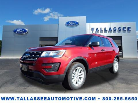 2017 Ford Explorer for sale in Tallassee, AL
