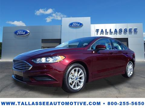 2017 Ford Fusion for sale in Tallassee, AL