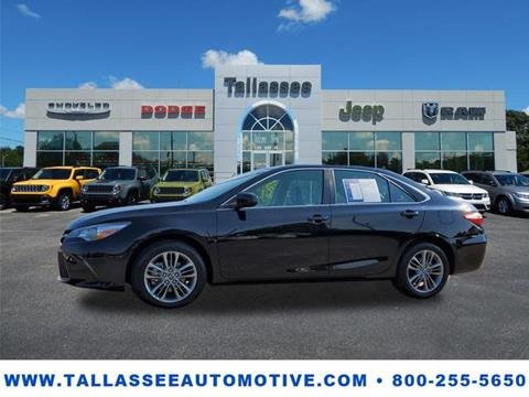 2016 Toyota Camry for sale in Tallassee, AL