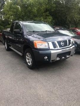 2014 Nissan Titan for sale in Plattsburgh NY
