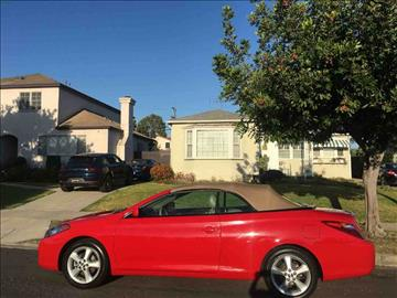 2005 Toyota Camry Solara for sale in Los Angeles, CA