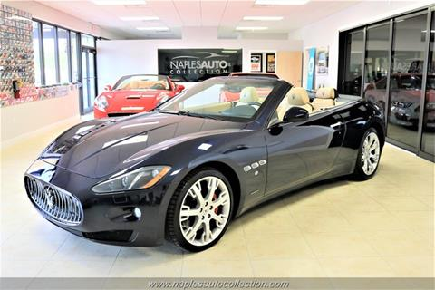 Used Maserati Granturismo >> 2015 Maserati Granturismo For Sale In Fort Myers Fl