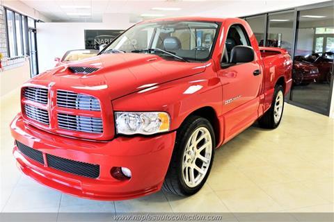 Used Dodge Ram >> 2004 Dodge Ram Pickup 1500 Srt 10 For Sale In Fort Myers Fl
