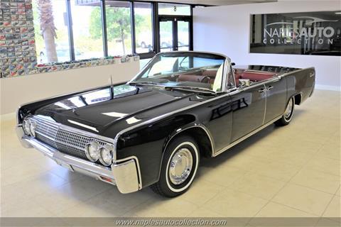 Car Dealerships Naples Fl >> Used 1963 Lincoln Continental For Sale in Lakeland, FL - Carsforsale.com®
