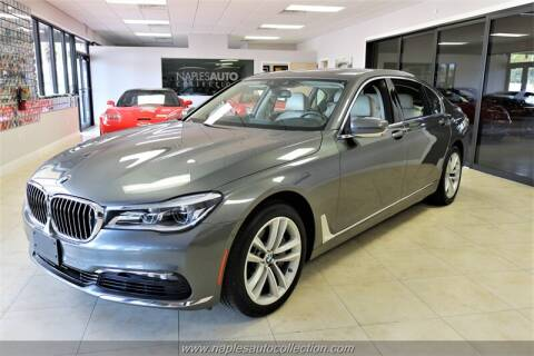 2016 BMW 7 Series 750i xDrive for sale at Naples Auto Collection in Fort Myers FL