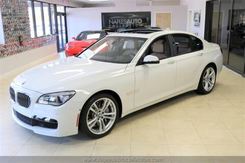 2015 BMW 7 Series 750i for sale at Naples Auto Collection in Fort Myers FL