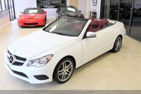 2014 Mercedes-Benz E-Class E 350 for sale at Naples Auto Collection in Fort Myers FL