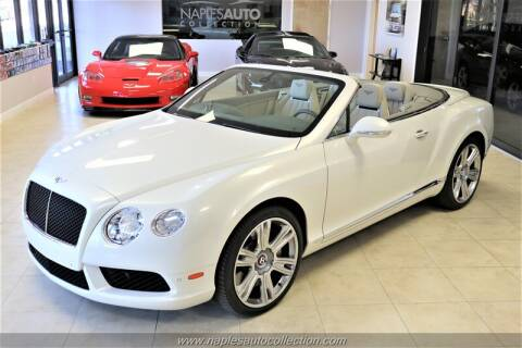 2015 Bentley Continental GT V8 for sale at Naples Auto Collection in Fort Myers FL