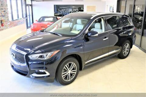 2020 Infiniti QX60 Luxe for sale at Naples Auto Collection in Fort Myers FL