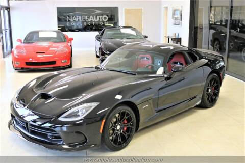 2013 Dodge SRT Viper GTS for sale at Naples Auto Collection in Fort Myers FL