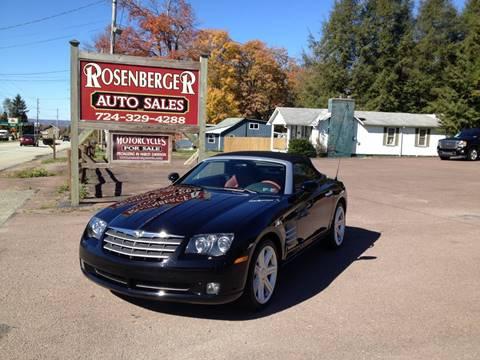 2006 Chrysler Crossfire for sale in Markleysburg, PA