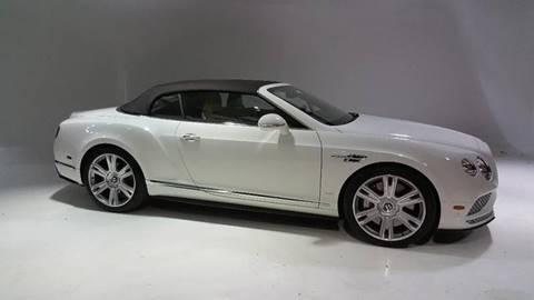 2016 Bentley Continental GTC V8 S