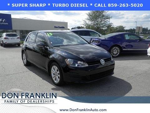 2015 Volkswagen Golf for sale in Lexington, KY