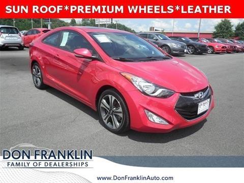 2013 Hyundai Elantra Coupe for sale in Lexington, KY