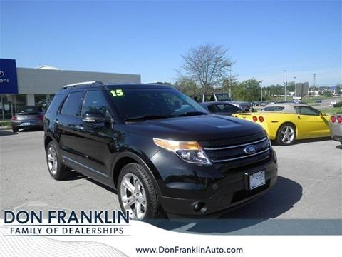 2015 Ford Explorer for sale in Lexington, KY