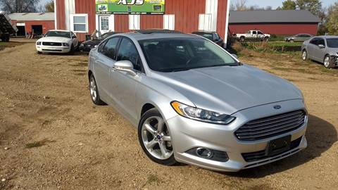 2013 Ford Fusion for sale in Parker, SD