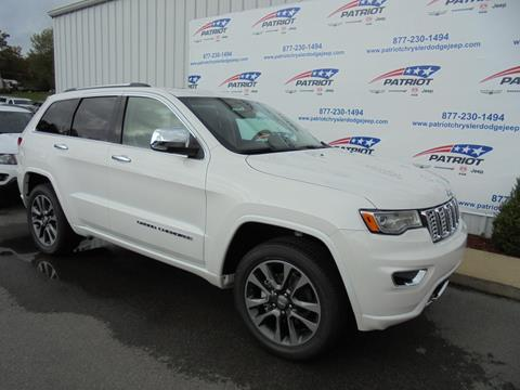 2018 Jeep Grand Cherokee for sale in Oakland, MD