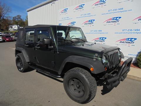 2010 Jeep Wrangler Unlimited for sale in Oakland, MD