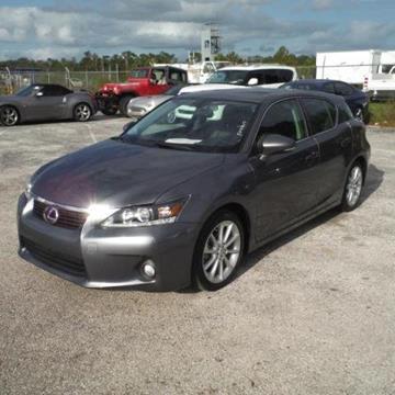 2013 Lexus CT 200h for sale in Ocoee, FL