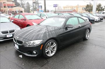 2014 BMW 4 Series for sale in Seattle, WA
