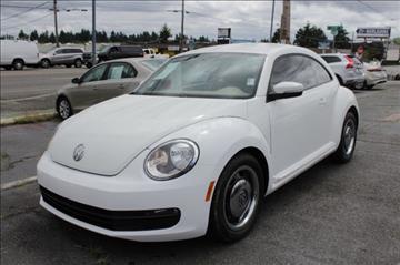 2013 Volkswagen Beetle for sale in Seattle, WA